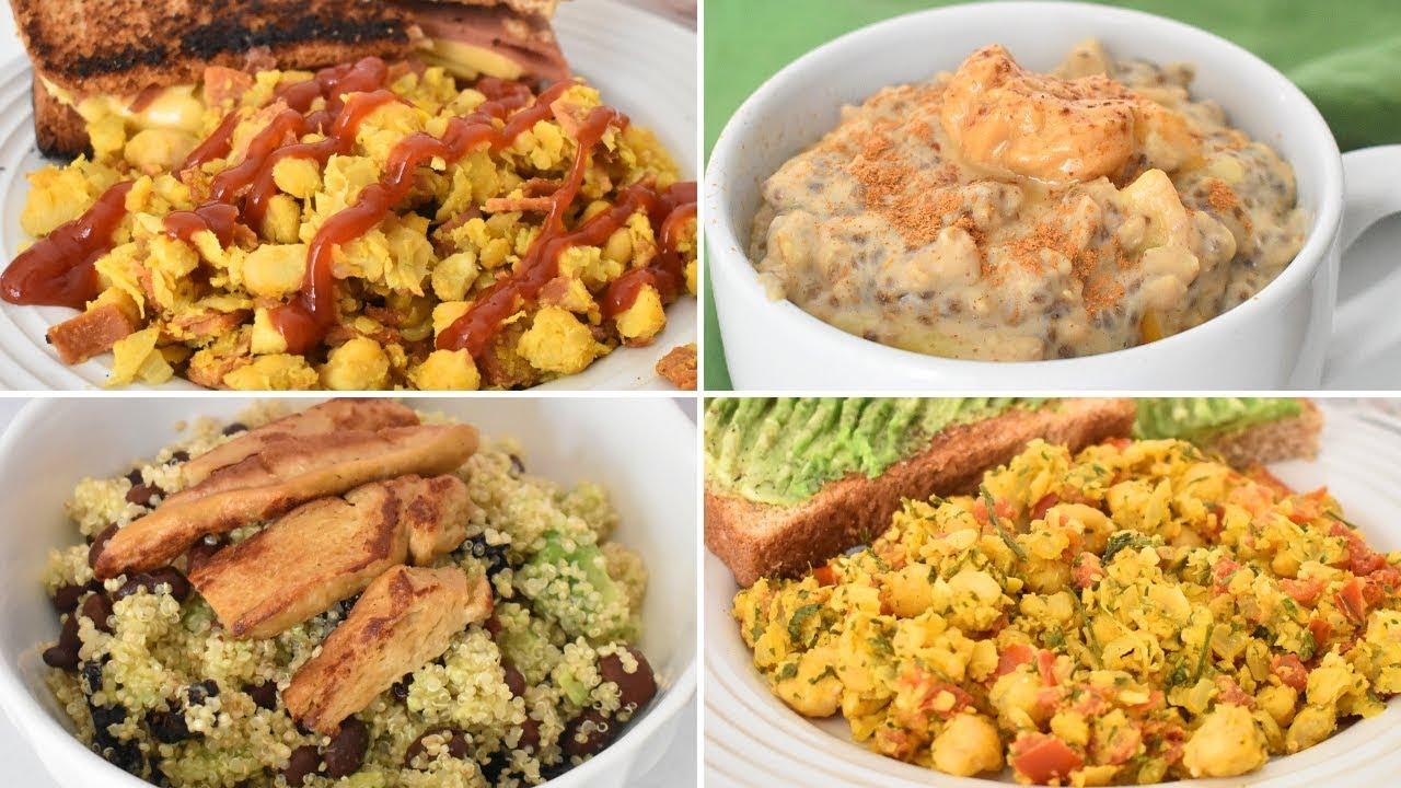 comidas saludables con muchas proteinas
