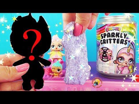 ПУПСИ СЛАЙМ СЮРПРИЗ Редкая Единорожка Poopsie Sparkly Critters Slime Surprise Видео для детей