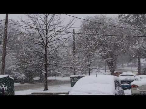Z06 in snow
