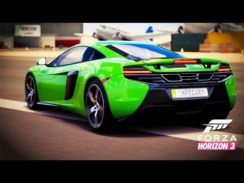 Необичайно бърз само 641к.с. sports car - McLaren 650S Coupé | Forza Horizon 3