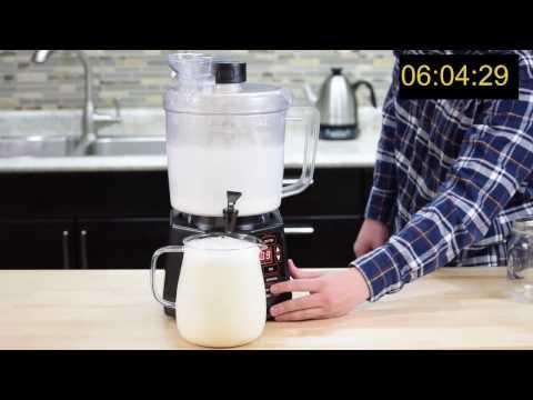 Making Cashew milk with the NutraMilk by Brewista