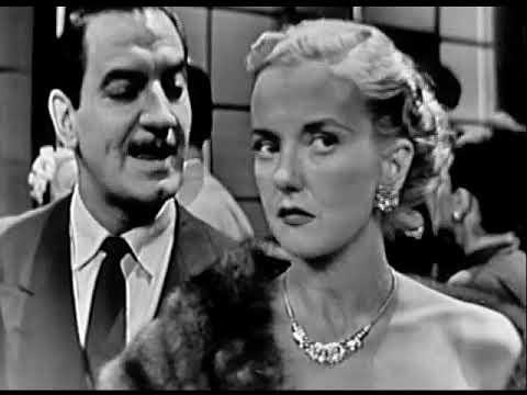 """1952 SUSPENSE - """"The Blue Panther"""" - Phyllis Brooks, Erik Rhodes"""