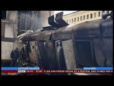 Train (tragedy) driver - hero or villain? (Egypt) - BBC News - 28th February 2019