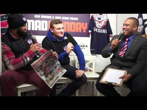 Rugby AM With guests Brad Singleton and Mitch Achurch part 1