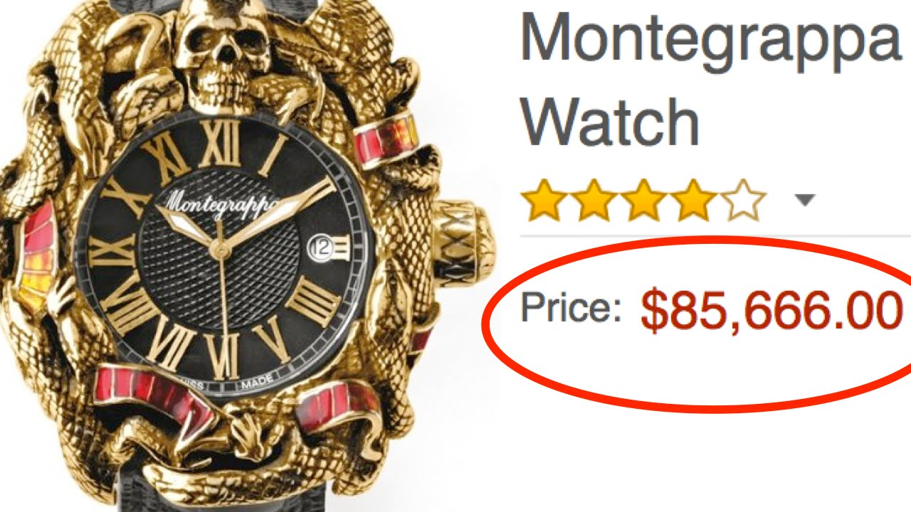 Most expensive luxury items