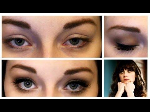 Makeup for big green eyes