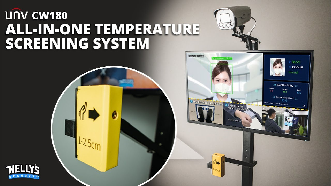 Uniview's All-in-One Temperature Screening System (CW180)
