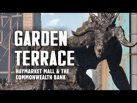 Garden Terrace, Haymarket Mall, Commonwealth Bank, & the Congress Street Garage - Explore Fallout 4
