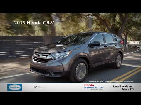 2019 Honda CR-V LX - Sunset Honda (Memorial Day Specials)