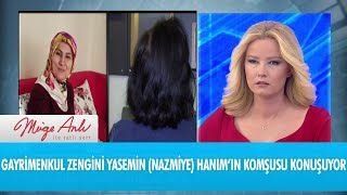 Yasemin (Nazmiye) Hanım'ın komşusu anlatıyor - Müge Anlı İle Tatlı Sert 10 Ekim 2018