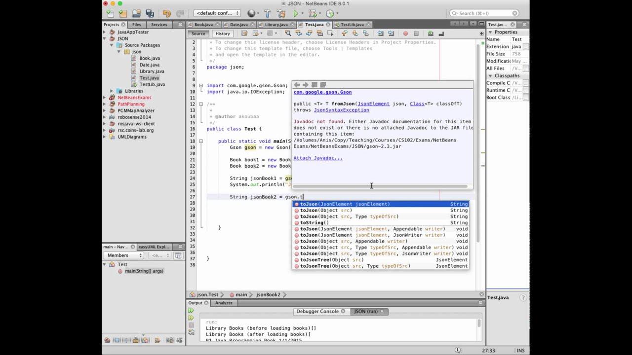 String To Json Java