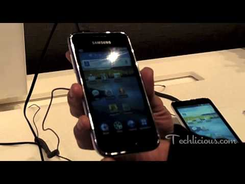 Hands-on with Samsung Galaxy Player (4- and 5-inch models)