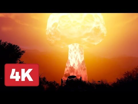 Fallout 76: Detonating a Nuke Gameplay in 4K