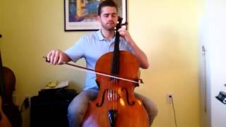 Chris Loxley Plays Minuet 2 Suzuki Cello Bk 1
