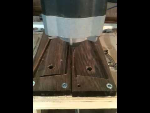 CNC cutting 1911 Grips (2)
