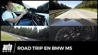 On a testé les autoroutes allemandes (et le Nürburgring) en BMW M5
