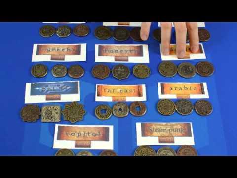 Geek-Craft Reviews Legendary Metal Coins by Drawlab Entertainment