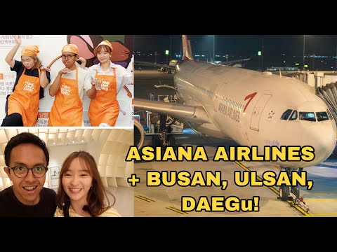 ASIANA AIRLINES + JALAN-JALAN KE BUSAN, ULSAN, DAEGU BARENG WOW KOREA SUPPORTERS!