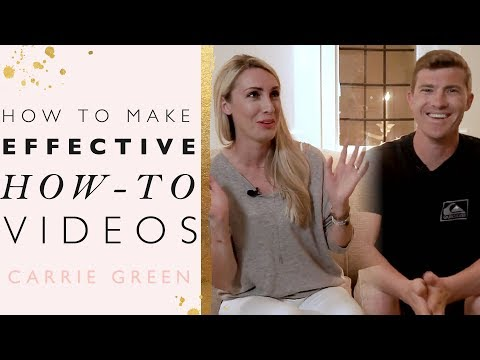 """How To Create Effective """"How-To"""" Videos For Your Business"""