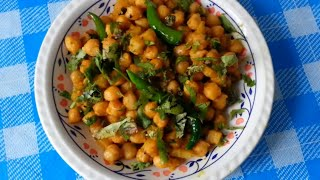 Aloo Chana-chick Peas With Potato-indian Cooking -pabda20
