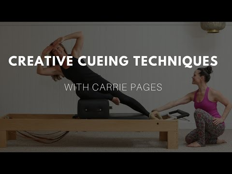 Creative Pilates Cueing with Carrie Pages
