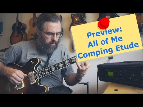 Preview: All of Me - 3 chorus Comping Etude