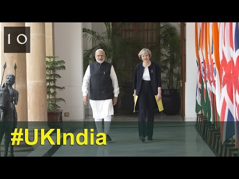 Joint UK-India press conference in full