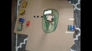 R.v. Area and Pit Row-Disney Cars Diorama Update #2