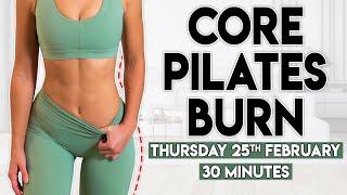 CORE PILATES BURN | 30 minute Home Workout