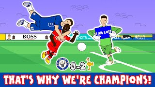 🔵Chelsea 0-2 Liverpool🔴 (Kepa Howler Mane Goals Christensen Red Card Parody Goals Highlights 2020)