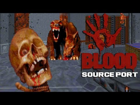 BloodGDX (Monolith's BLOOD Source Port 2018) + Eviction Mod Walkthrough + Download Link