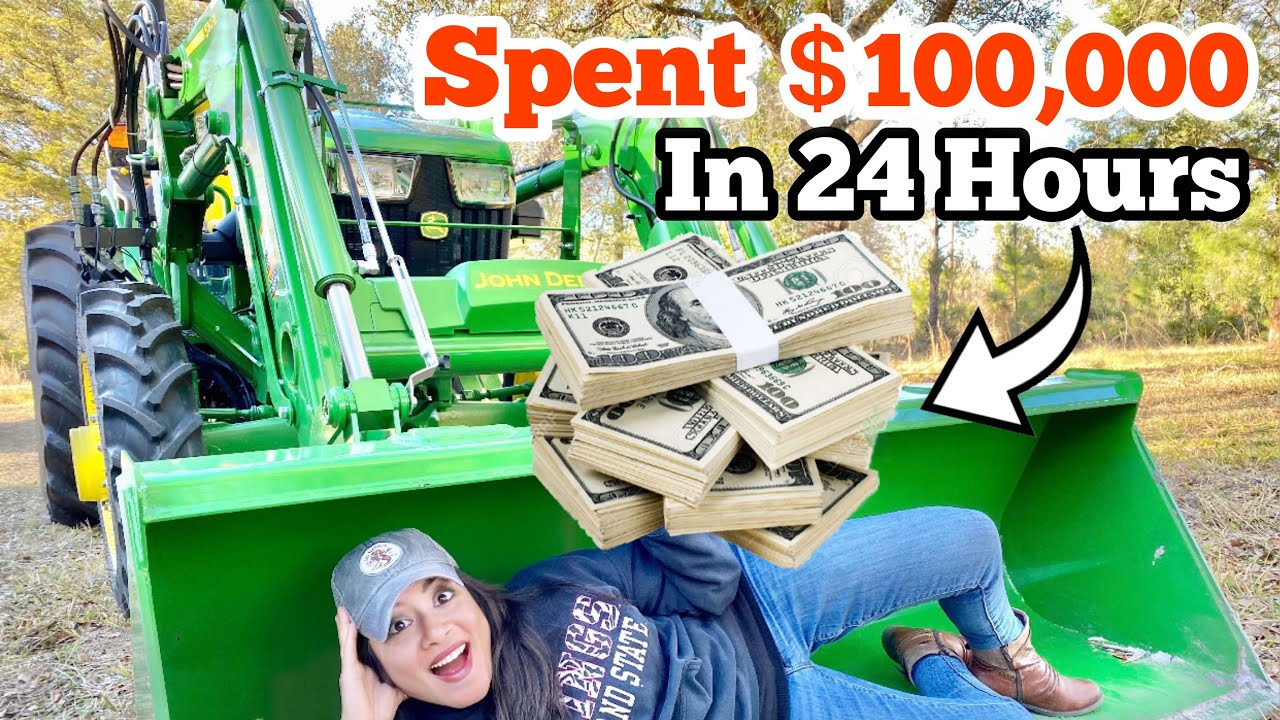 I SPENT $100,000 In 24 Hours On...