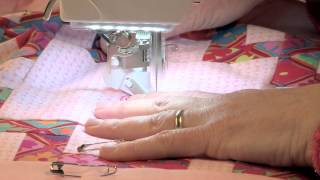 Free-motion Quilting With The Bernina Stitch Regulator: Braided Knot Block