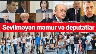 Dəyişməlidir   Bakı Sakinləri Nazirlər Və Deputatlar Haqda