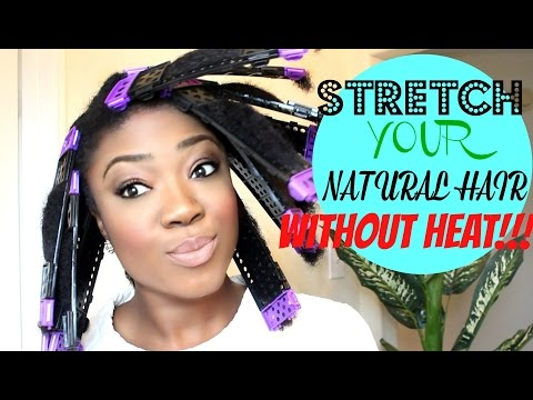 STRETCH YOUR NATURAL HAIR WITHOUT HEAT | REVIEW CWK SSS PLATES