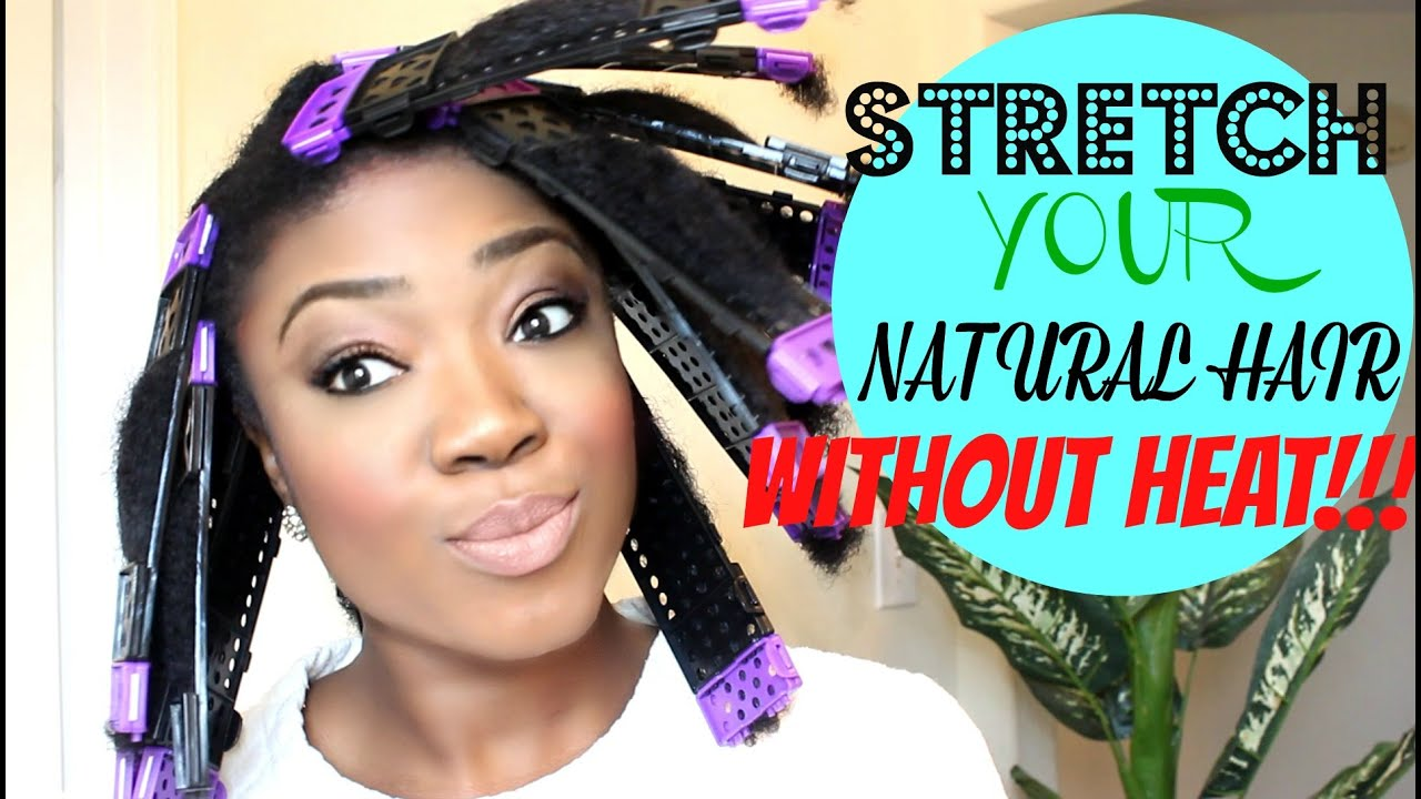 stretch natural hair