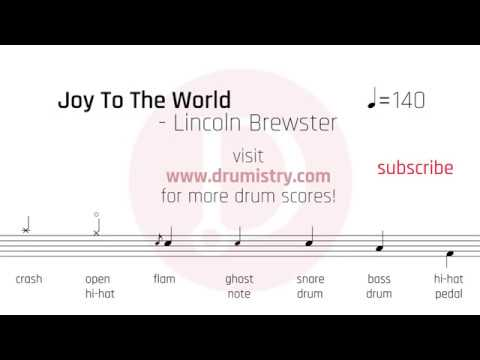 Joy To The World Keyboard Chords By Lincoln Brewster Worship Chords