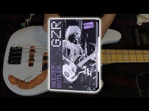 EMG Geezer Butler Signature GZR PJ Bass Pickups