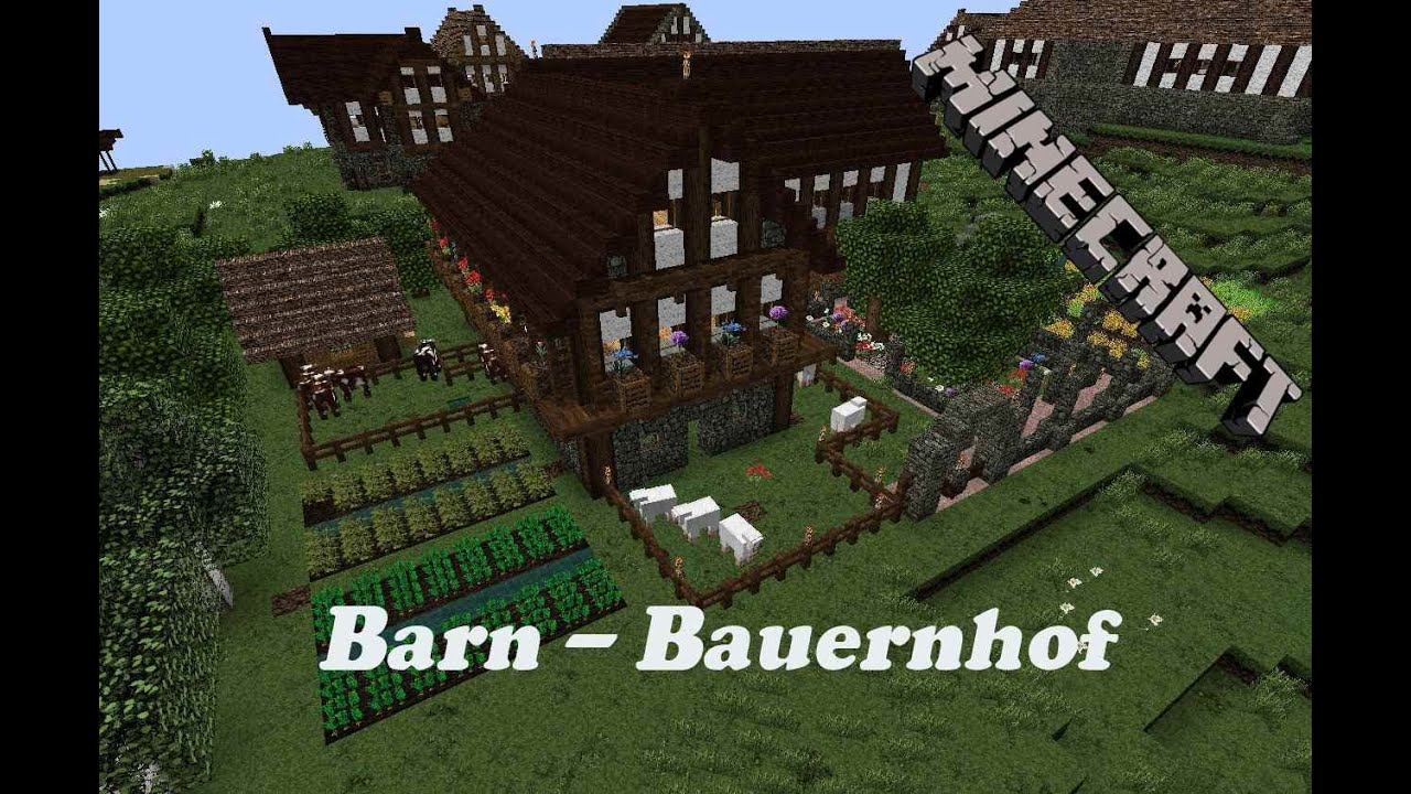Image Result For Red Barn Minecraft
