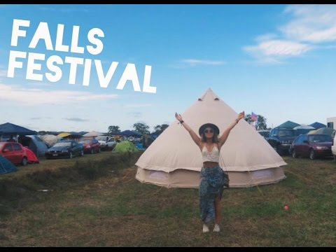 FALLS FESTIVAL BYRON BAY 2016/17