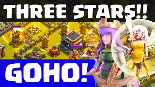 Clash of Clans - Queen Healer GoHo! THREE Star Strategy!