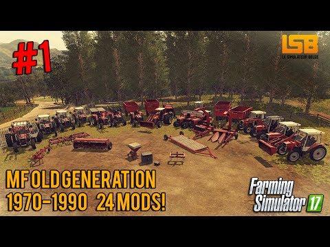 Présentation mod Contest #1 | MF Old Generation 1970-1990 | 24 mods!