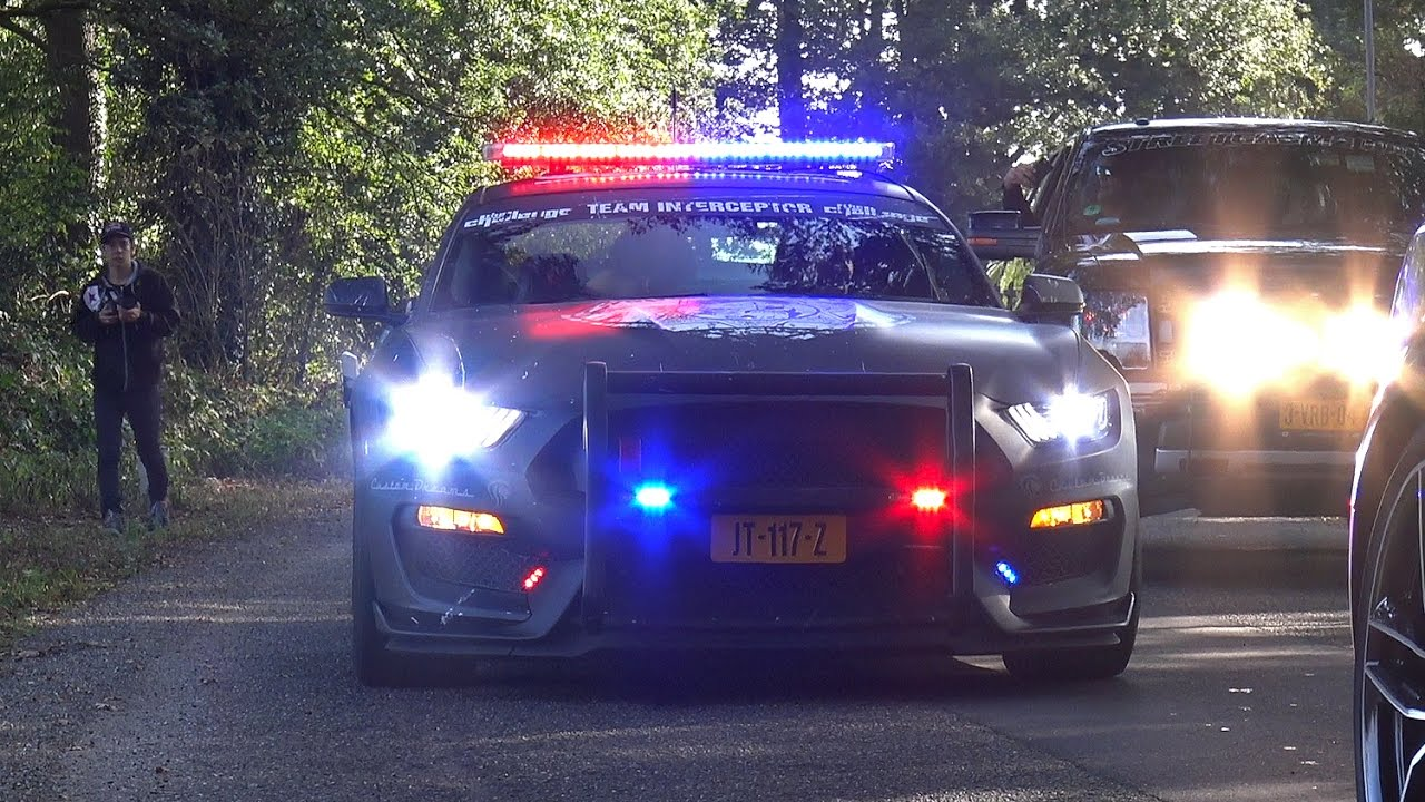 Ford Mustang Shelby Gt350r Police Interceptor Youtube
