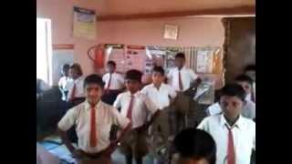 School-NIMBE,Tal-karjat,Dist-Ahmednagar.4th std.marathi poem