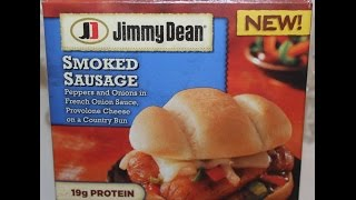 Jimmy Dean: Smoked Sausage Sandwich Food Review