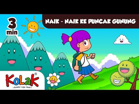 Lagu Anak Indonesia | NAIK KE PUNCAK GUNUNG | TK Dan PAUD
