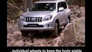 Toyota Land Cruiser 150 - Crawl Control