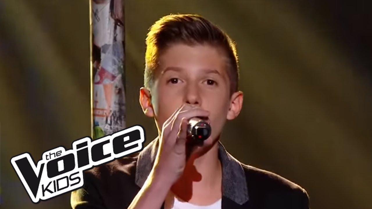Il Est Où Le Bonheur Christophe Maé The Voice Kids 2016 Evan Finale Youtube