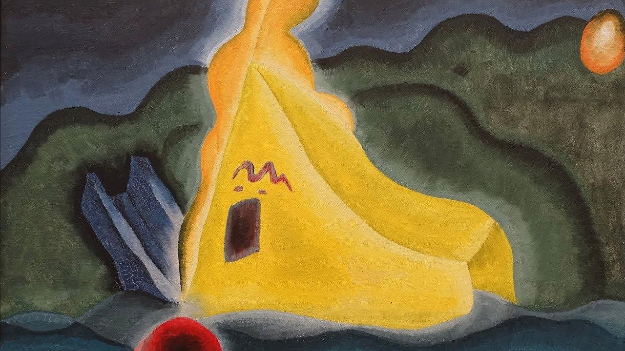 アメリカの抽象画家」アーサー・ダヴ(Arthur Dove)の絵画集 - YouTube