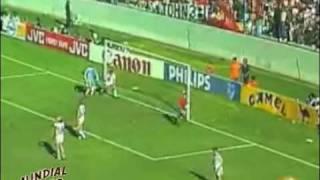 Resumen Dinamarca vs España México 86 - Mundial Retro